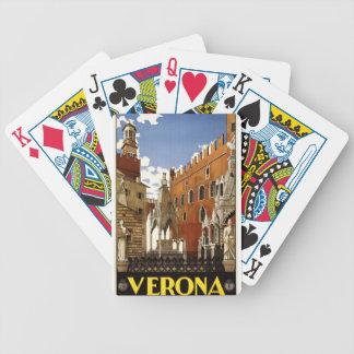 Verona Bicycle Playing Cards