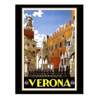 Verona CIty in Italy Postcard