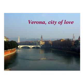 Verona, city of Love Postcard