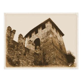 Verona, Italy - Castle Postcard