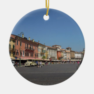 Verona, Italy Ceramic Ornament