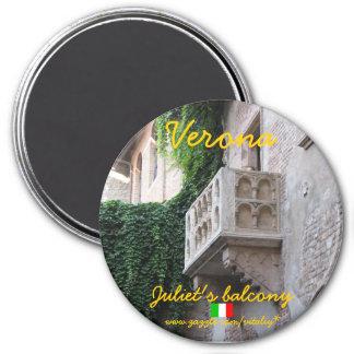 Verona Italy Juliet s balcony magnet design