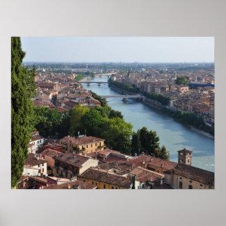 Verona, Italy poster