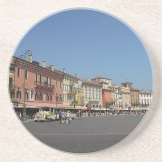 Verona, Italy Sandstone Coaster