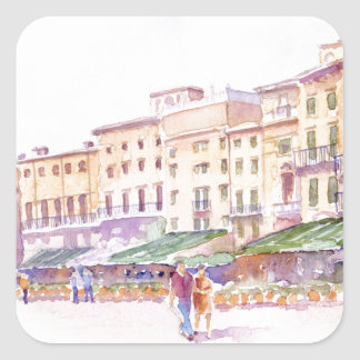Verona, Italy Square Sticker