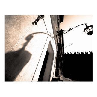 Verona Lamp Postcard