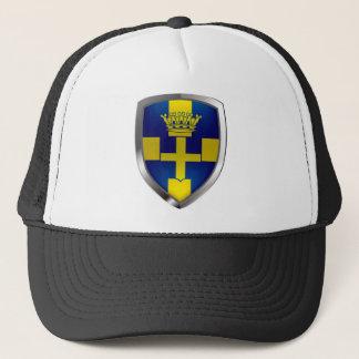 Verona Mettalic Emblem Trucker Hat