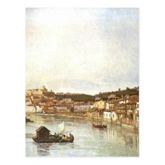 Verona Veduta by Bernardo Bellotto Postcard