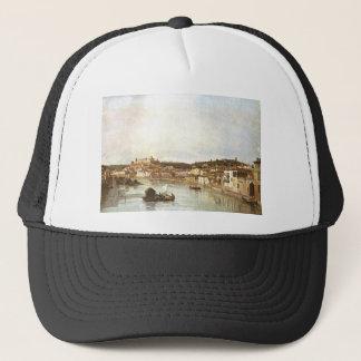 Verona Veduta by Bernardo Bellotto Trucker Hat