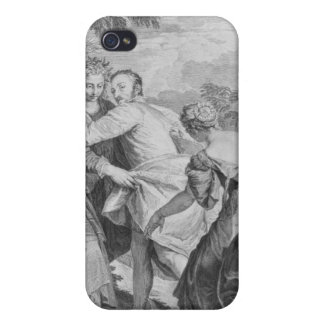 Veronese  between Vice and Virtue iPhone 4 Covers