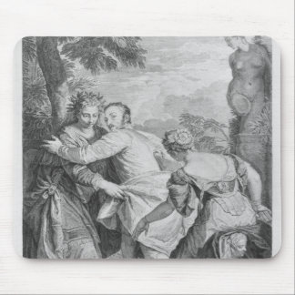 Veronese  between Vice and Virtue Mouse Pad