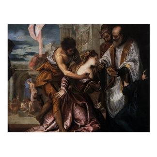 Veronese-Martirio de Pablo, comunión pasada de St  Postal