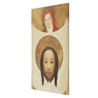 Veronica con el Sudarium, c.1420 del santo Lienzo Envuelto Para Galerias