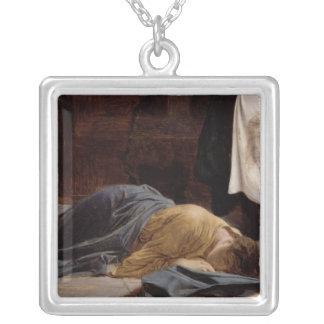 Veronica del santo collar plateado