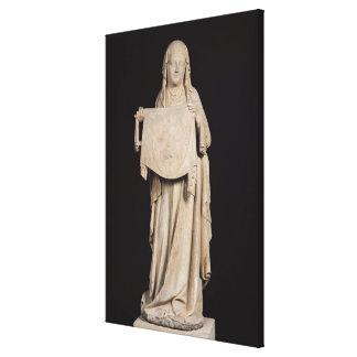 Veronica del St., c.1310 Impresion En Lona