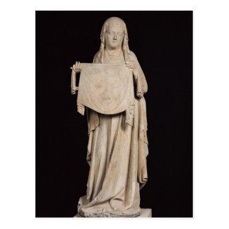 Veronica del St., c.1310 Tarjetas Postales