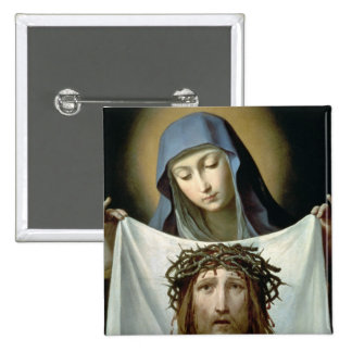 Veronica del St. Pin Cuadrada 5 Cm