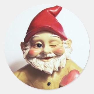 Veronica the Gnome Classic Round Sticker