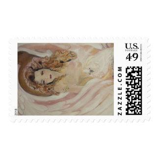 Veronica Weavers Angelic stamp
