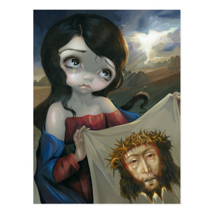 """Veronica's Veil"" Postcard"