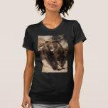Verraco del oso grizzly camiseta