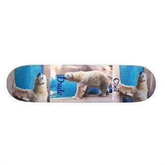Verraco fresco del oso polar del tipo tabla de skate
