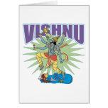 Verraco hindú de Vishnu Felicitaciones