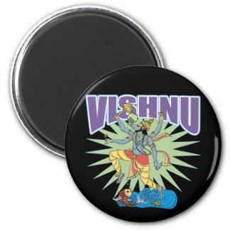 Verraco hindú de Vishnu Imán Redondo 5 Cm