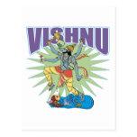 Verraco hindú de Vishnu Tarjeta Postal