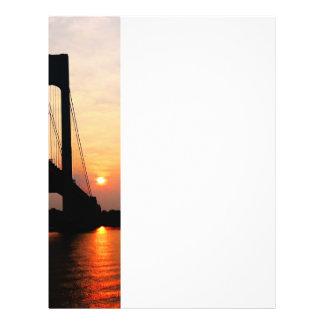 Verrazano Bridge at Dawn Flyer