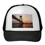 Verrazano Bridge at Dawn Mesh Hat