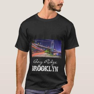 Verrazano Bridge at Night Bay Ridge Brooklyn NYC T-Shirt