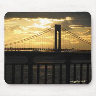 Verrazano bridge New York City mousepad