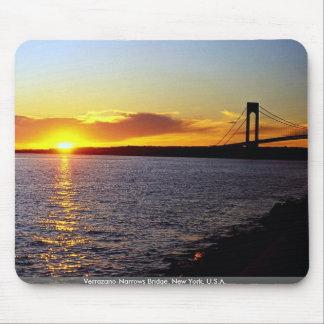 Verrazano-Narrows Bridge, New York, U.S.A. Mouse Pad