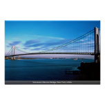 Verrazano-Narrows Bridge, New York, U.S.A. Poster