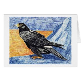 verreaux's eagle greeting card