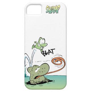 Verruga del pantano y ranas de Mort iPhone 5 Case-Mate Funda