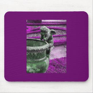 Versailles Angel Grunge Mouse Pad
