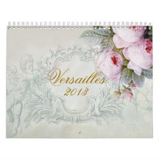 Versailles Wall Calendar