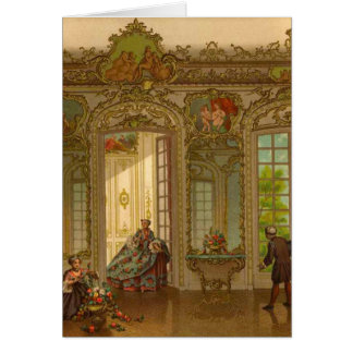Versailles Day to Day Greeting Card