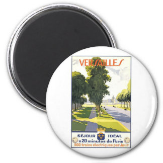 Versailles France 2 Inch Round Magnet