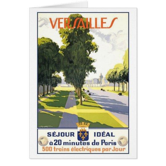 Versailles France Card
