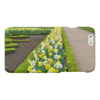 Versailles gardens flowers France Glossy iPhone 6 Case
