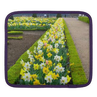 Versailles gardens flowers France iPad Sleeve