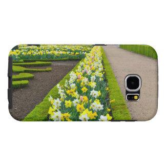Versailles gardens flowers France Samsung Galaxy S6 Cases