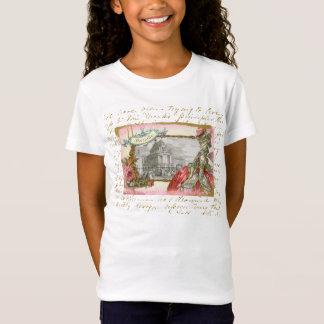 Versailles Marie Antoinette Collage Girls T-shirt