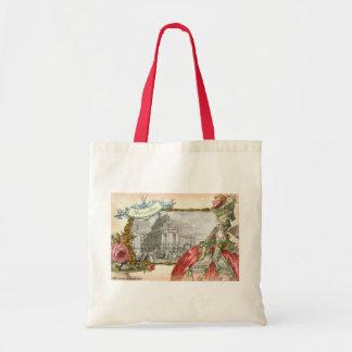 Versailles Marie Antoinette Elegance Tote Bags
