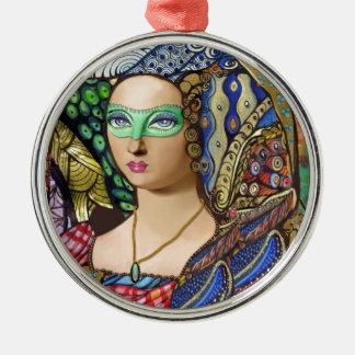 Versailles Masquerade Metal Ornament