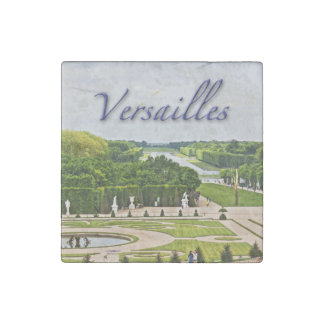 Versailles Palace Gardens Stone Magnet