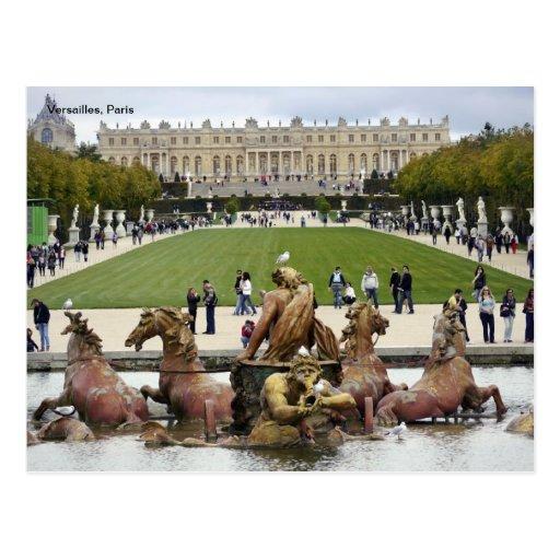 Versailles, Paris. Post Card
